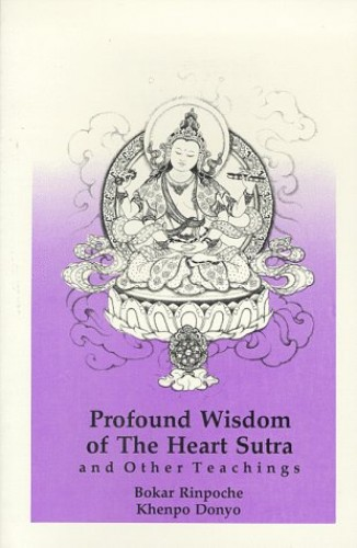 Profound Wisdom of the Heart Sutra and Other Teachings By Bokar Rinpoche