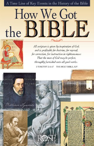 How We Got the Bible Pamphlet By Kevin A Miller