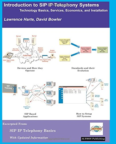 Introduction to SIP IP Telephony Systems: Technology Basics, Services, Economics, and Installation 2nd Edition By Lawrence Harte