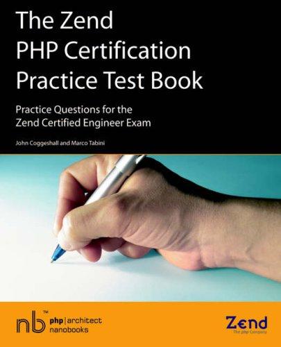 zend practice certification test exam engineer certified questions pdf isbn