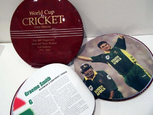 World Cup Cricket: Full 2007 Programme, Team and Player Profiles, Full Statistics 1975-2003 by Peter Murray