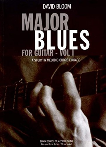 Major Blues for Guitar By David Bloom