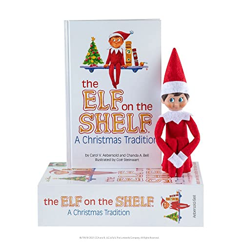 Elf On The Shelf: A Christmas Tradition (blue-eyed boy) By Carol V. Aebersold