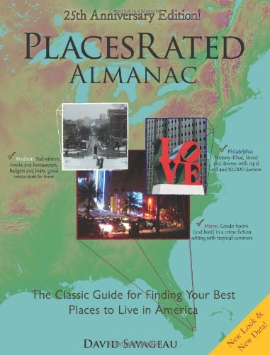 Places Rated Almanac By David Savageau