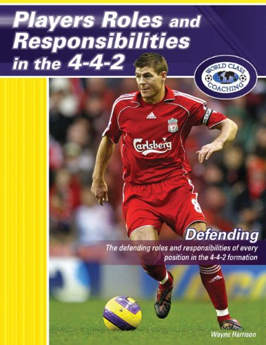Players Roles and Responsibilities in the 4-4-2 - Defending by Wayne Harrison (2009) Paperback