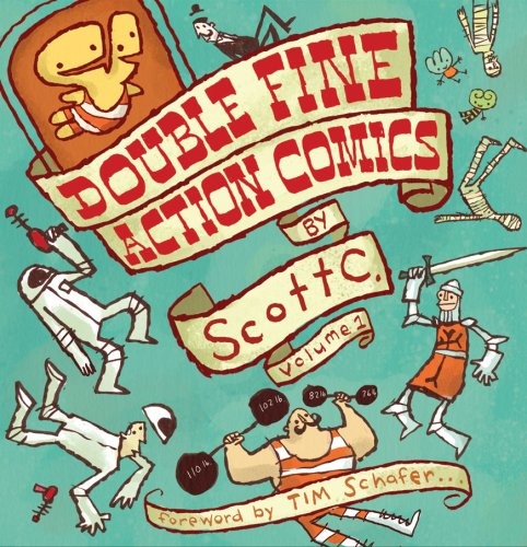 Title: Double Fine Action Comics by Scott C Volume 1 By Scott Campbell; Tim Schafer (Foreword)