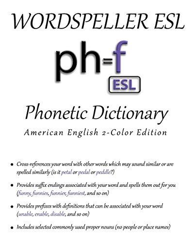 Wordspeller ESL Phonetic Dictionary By Diane M Frank