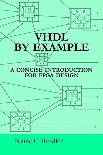 Vhdl By Example By Blaine Readler