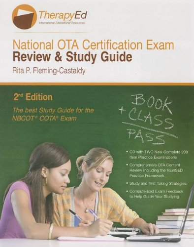 National Occupational Therapy Assistant Certification Exam Review & Study Guide By Rita P Fleming-Castaldy
