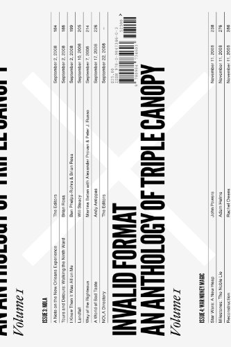 Invalid Format: An Anthology of Triple Canopy By Text by Rivka Galchen