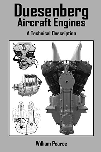 Duesenberg Aircraft Engines By William Pearce
