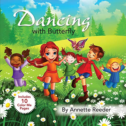 Dancing with Butterfly By Annette Reeder