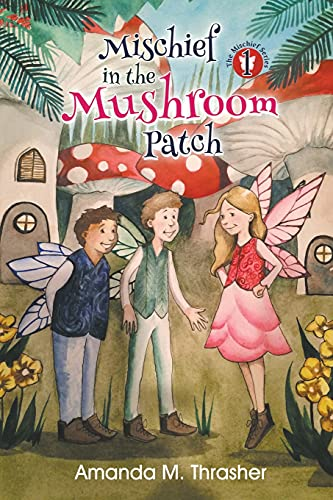 Mischief in the Mushroom Patch By Amanda M Thrasher