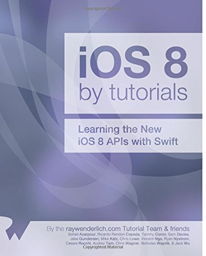 IOS 8 by Tutorials By Soheil Azarpour