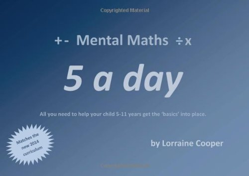 Mental Maths Five a Day by Lorraine Cooper