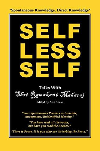 Selfless Self By Ramakant Maharaj
