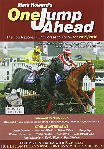 One Jump Ahead: The Top National Hunt Horses to Follow for 2015/2016: No. 23 by Mark Howard