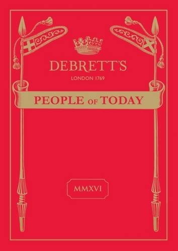 Debrett's People of Today 2016 By Edited by Lucy Hume