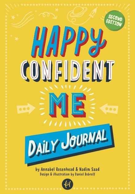 Happy Confident Me Journal By Nadim Saad