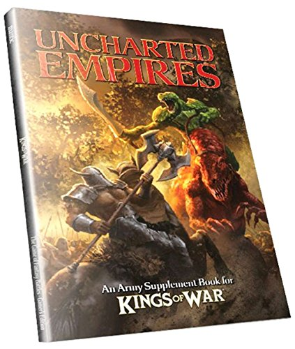 Kings of War 2nd Edition - Uncharted Empires (Army Supplement Book)