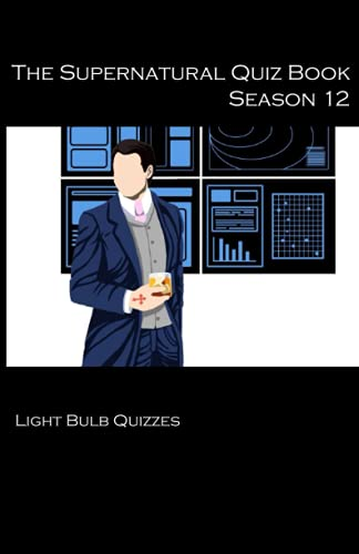 The Supernatural Quiz Book Season 12 By Light Bulb Quizzes