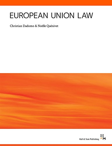 European Union Law By Christian Dadomo