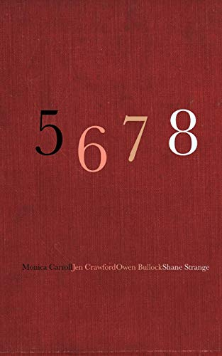 5 6 7 8 By Monica Carroll