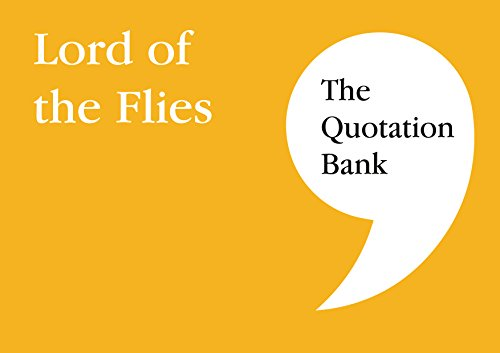 The Quotation Bank: Lord of the Flies