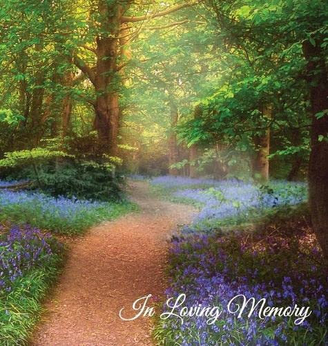 """""""In Loving Memory"""" Funeral Guest Book, Memorial Guest Book,  Condolence Book, Remembrance Book for Funerals or Wake, Memorial Service Guest Book: A ... the family. HARD COVER with a gloss finish By Prepared for publication by Angelis Publications"""