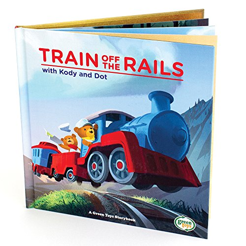 Train Off the Rails W/Kody & D By Created by Green Toys