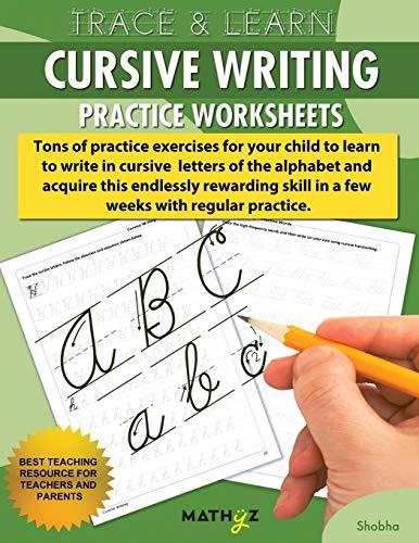 Trace & Learn - Cursive Writing By Shobha Pandey