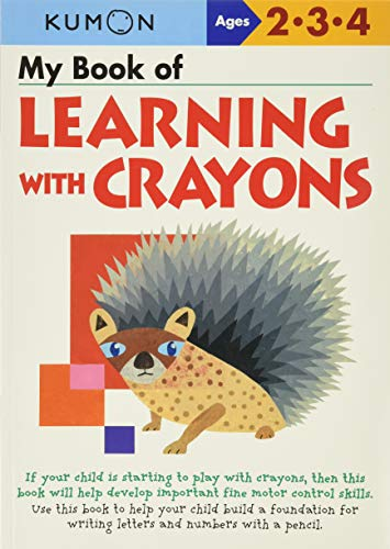 My Book of Learning with Crayons von Kumon