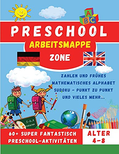 Preschool Workbook - Vorschule Arbeitsmappe By Preschool Zone