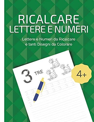 Ricalcare Lettere e Numeri By Lisa Thousandcolors