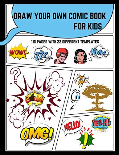 Draw Your Own Comic Book For Kids By Rocket Pub