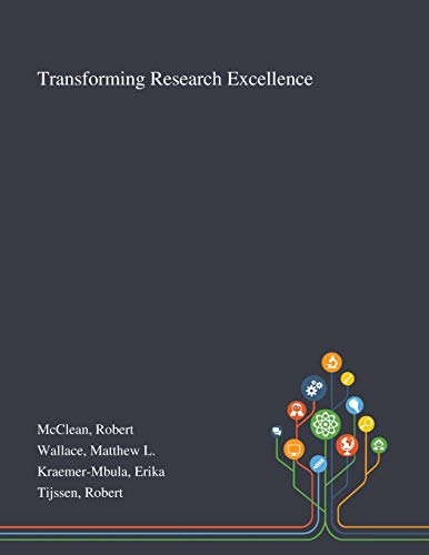 Transforming Research Excellence By Robert McClean