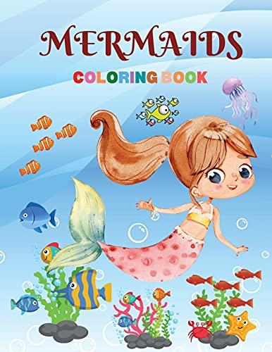 Mermaids Coloring Book By Wilfrid Stone