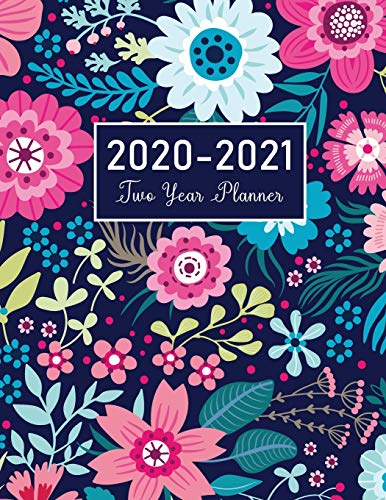 2020-2021 Two Year Planner By John Book Publishing