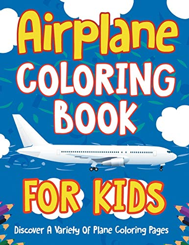 Airplane Coloring Book For Kids By Bold Illustrations