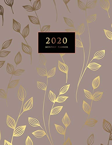 2020 Monthly Planner: Large Monthly Planner with Inspirational Quotes and Marble Cover (Volume 7) By Jasmine Creative