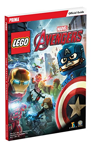 LEGO Marvel's Avengers Standard Edition Strategy Guide By Ken Schmidt