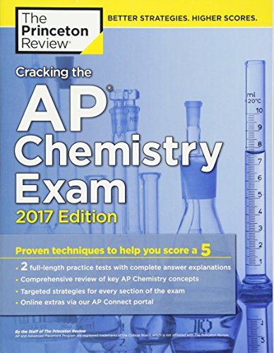 Cracking the AP Chemistry Exam By Princeton Review