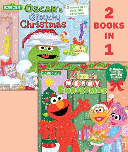Elmo's Merry Christmas/Oscar's Grouchy Christmas (Sesame Street) By Christy Webster