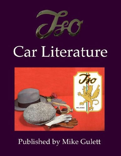 Iso Car Literature By Mike Gulett