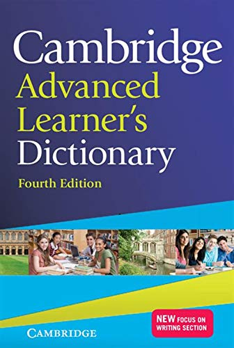 Cambridge Advanced Learner's Dictionary By Edited by Colin McIntosh