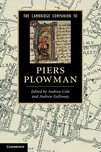 The Cambridge Companion to Piers Plowman par Andrew Cole (Princeton University, New Jersey)