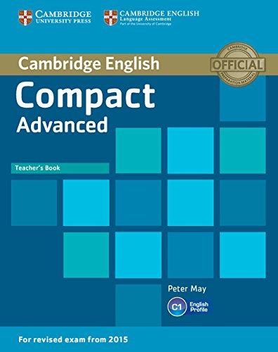 Compact Advanced Teacher's Book By Peter May
