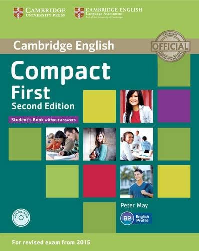 Compact First Student's Book without Answers with CD... by May, Peter 1107428424