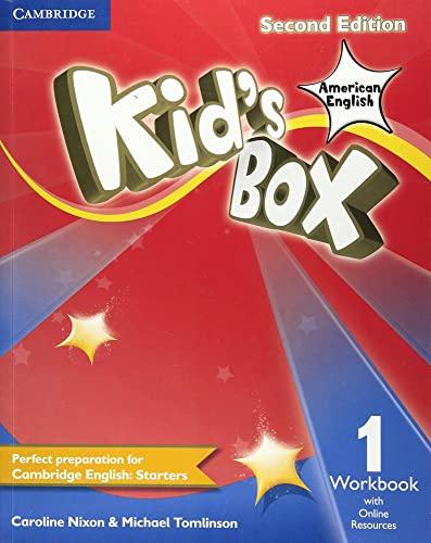 Kid's Box American English Level 1 Workbook with Online Resources By Caroline Nixon