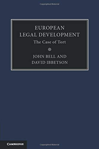 European Legal Development By John Bell